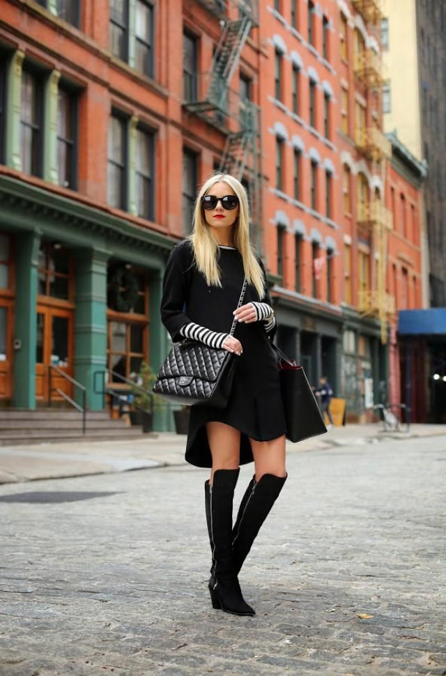 Black outfits idea