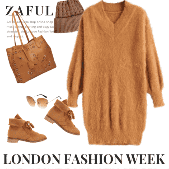 If you wanna look adorable, you'll wear this outfit! It's so cozy, lovely, warm, soft,.... Every piece i…