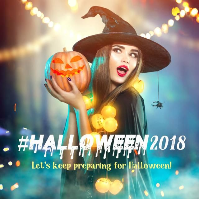 Let's keep talking about Halloween!