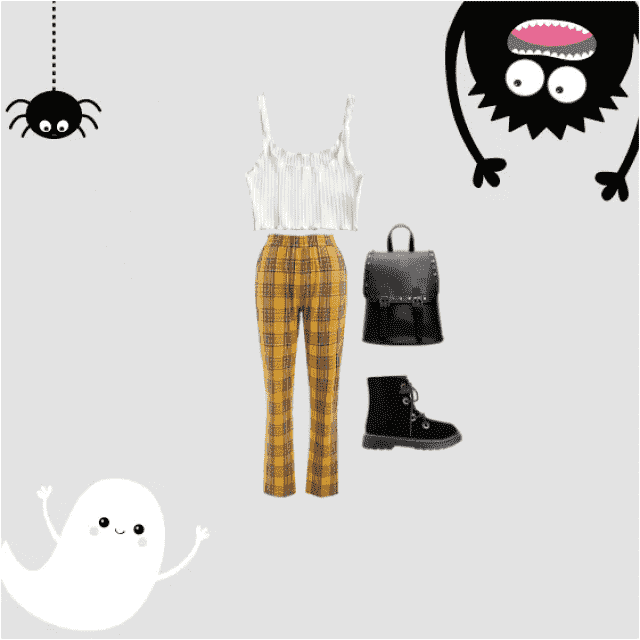 A cool, sophisticated, trendy look for a scary night in town, a ghoulish date or spine-tingling get-together! Very vers…