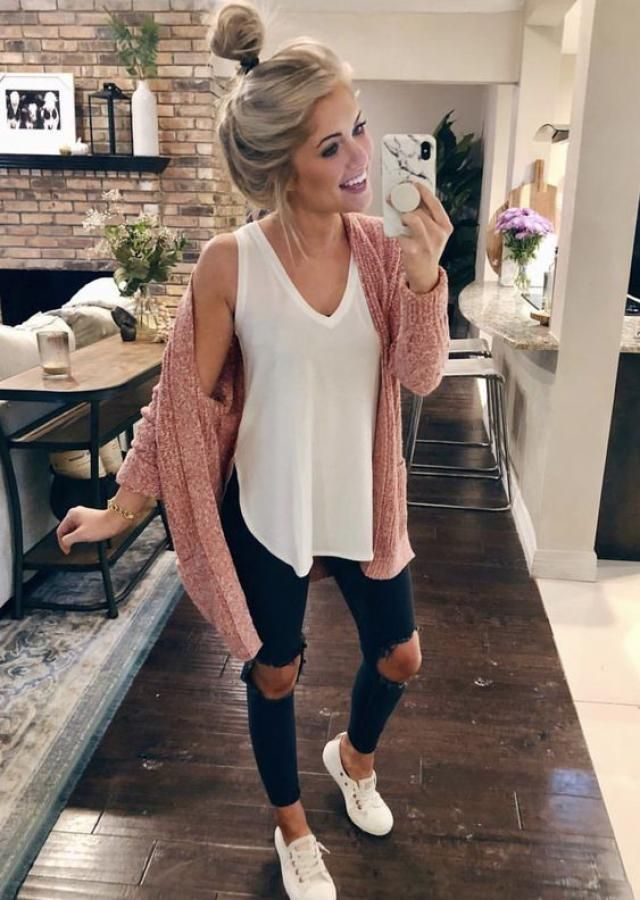 White Fall Top