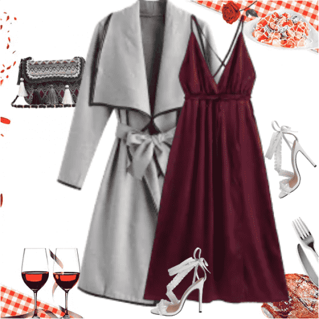 A nice outfit for a nice evening, for a nice dinner! Whether for two or for more people, the dinner in…