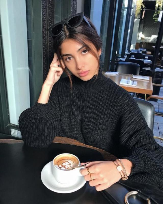 There is nothing better than a classic black sweater