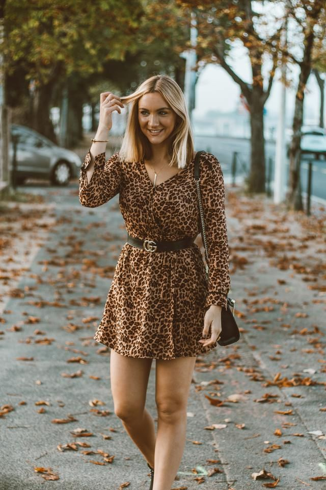 Animal print is the must-have of this season. I already have my perfect dress for this autumn, its super cute and styli…