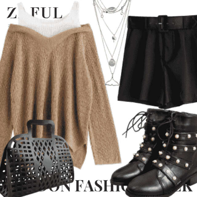 What to Wear?  Zaful have solution for you. This is a trendy outfit for girls who want to be dif…