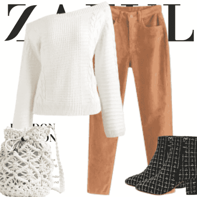 What to Wear?  Zaful have solution for you. This is a fashion outfit for girls who want to be differen…