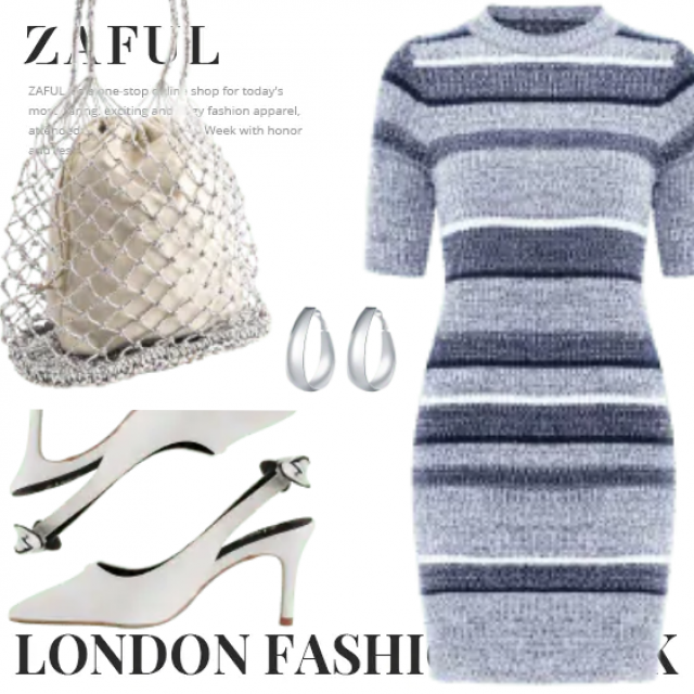What to Wear?  Zaful have solution for you. This is a trendy outfit for girls who want to be differe…