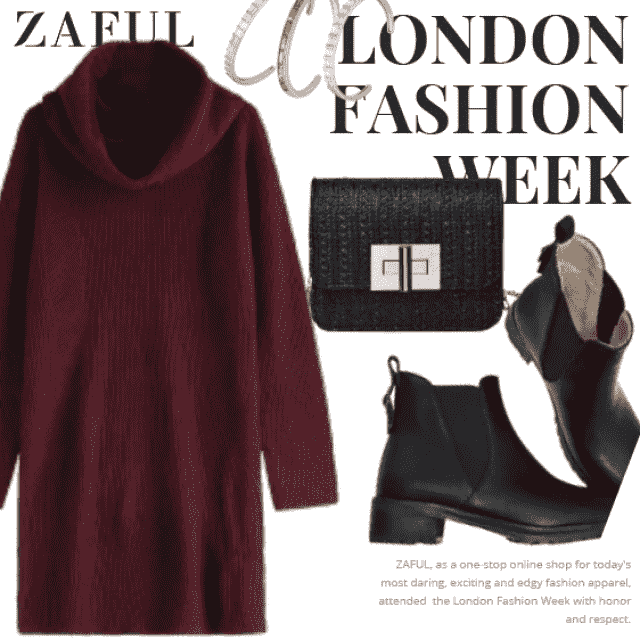 What to Wear?  Zaful have solution for you. This is a fancy outfit for girls who want to be different.…
