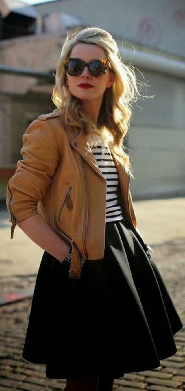 Black Skirt And Jacket