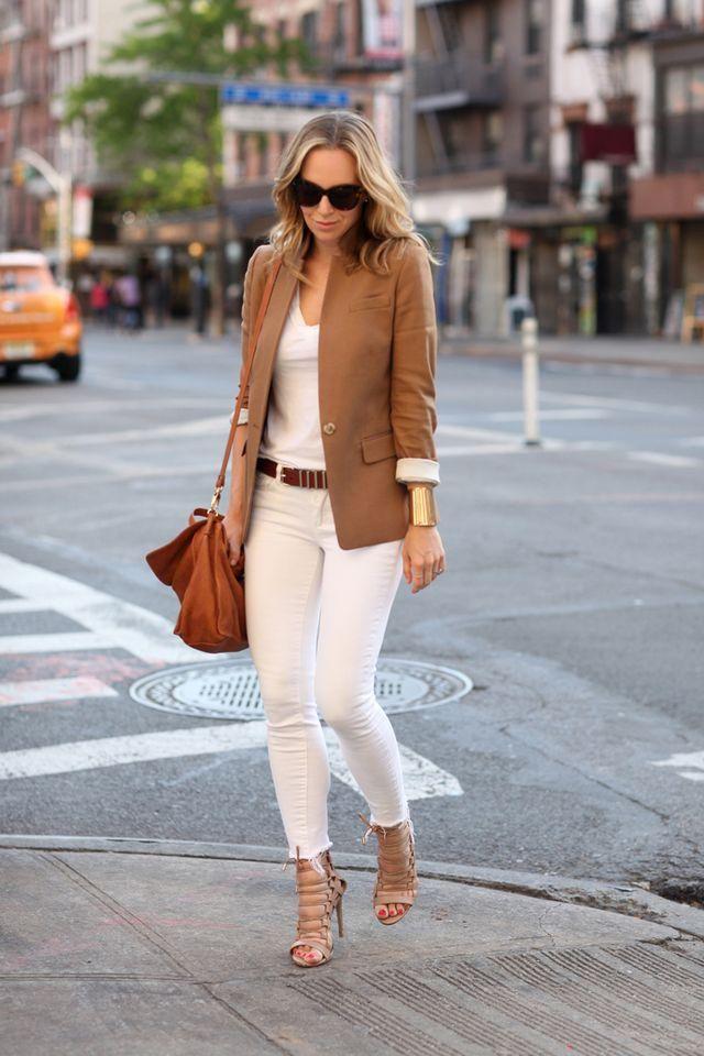 White Cool Pants