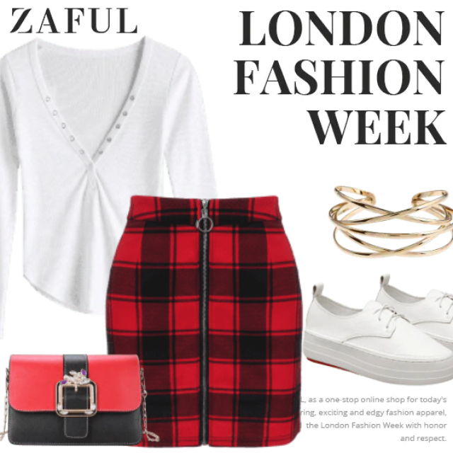 What to Wear?  Zaful have solution for you. This is a casual outfit for girls who want to be diffe…