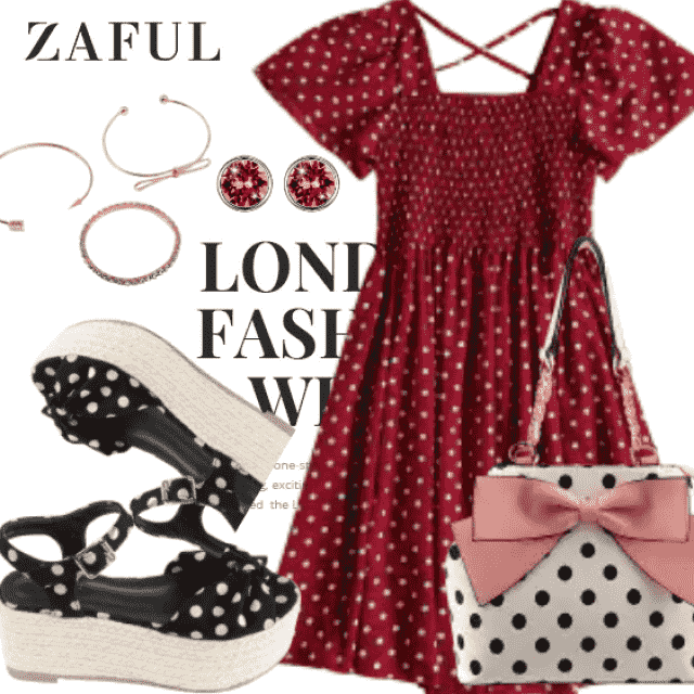 What to Wear?  Zaful have solution for you. This is a romantic outfit for girls who want to be diffe…