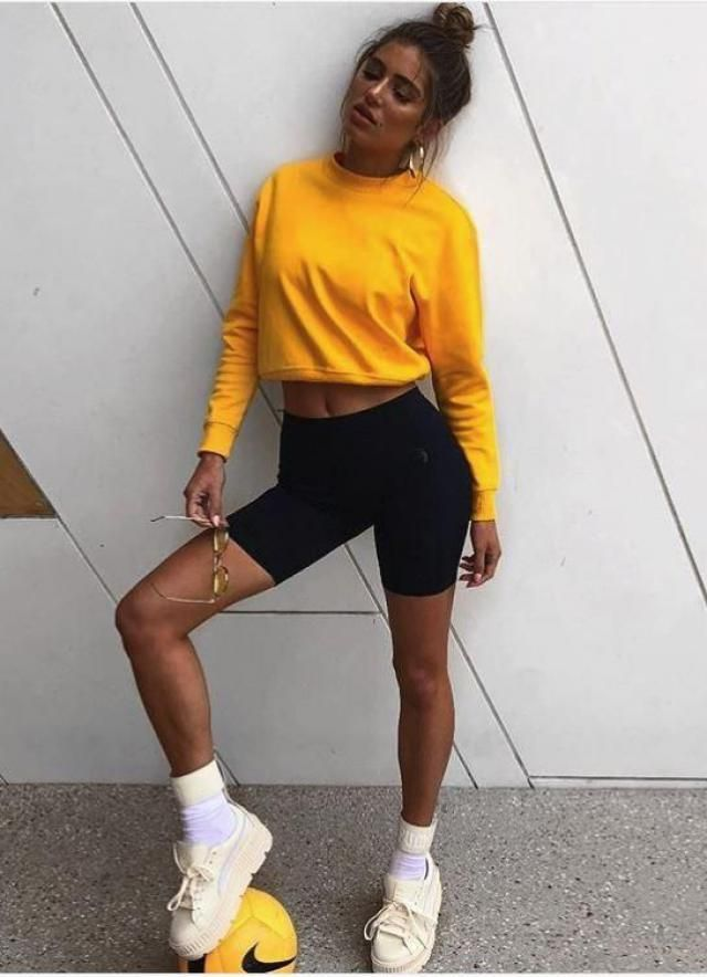 how beautiful is the yellow color, it is perfect with everything, this sweater is ideal to show off your tan you got in…