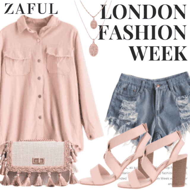 What to Wear?  Zaful have solution for you. This is a trendy outfit for girls who want to be differen…