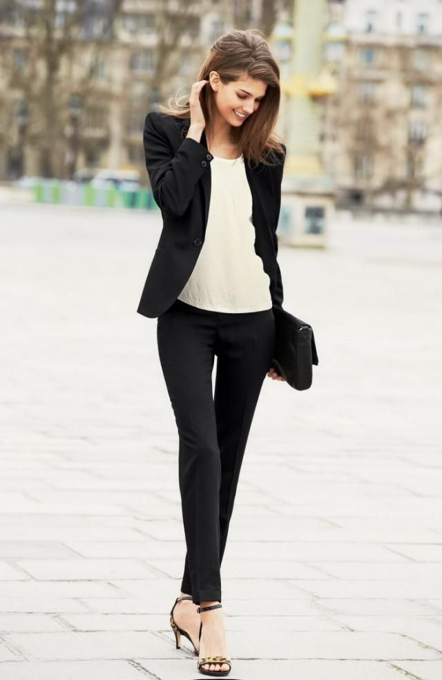 Black And White Combination For Work
