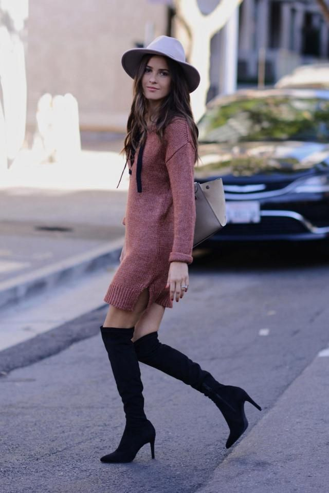 Heather High Low Knitted Dress  Beautiful dress and popular hat ,buy here ,online shop ,best of ZAFUL!!!            …