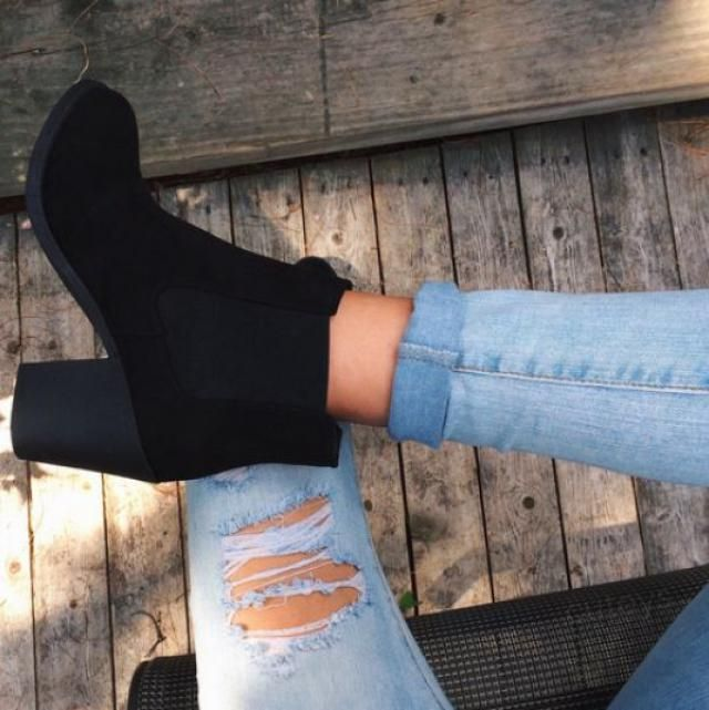 Black ankle boots, top on zaful, buy now, women style, online shop, great women style!