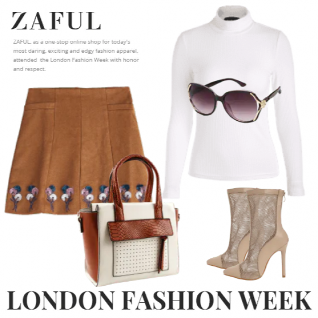 White sweater and mini skirt ,an ideal combination for you,buy here,only in ZAFUL!!! Look here:https://m.zaful.com/joi…