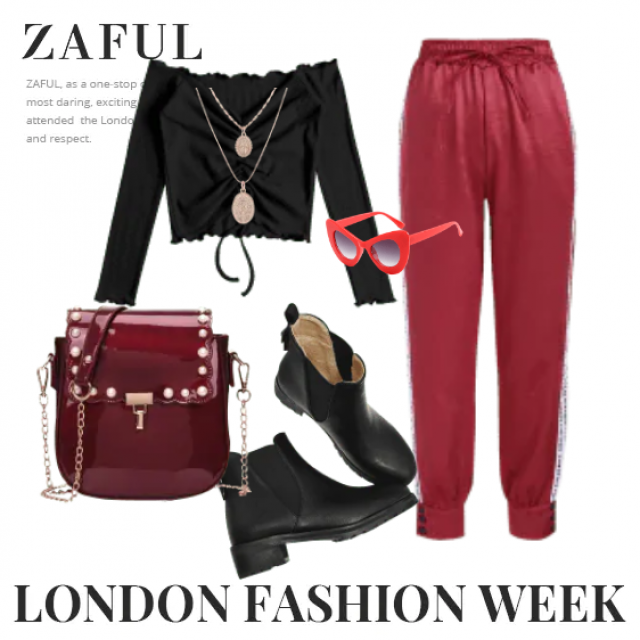 These unique pants and black top,buy here,best of  ZAFUL!!! Look here:https://m.zaful.com/join-commission/me.html?uid=…