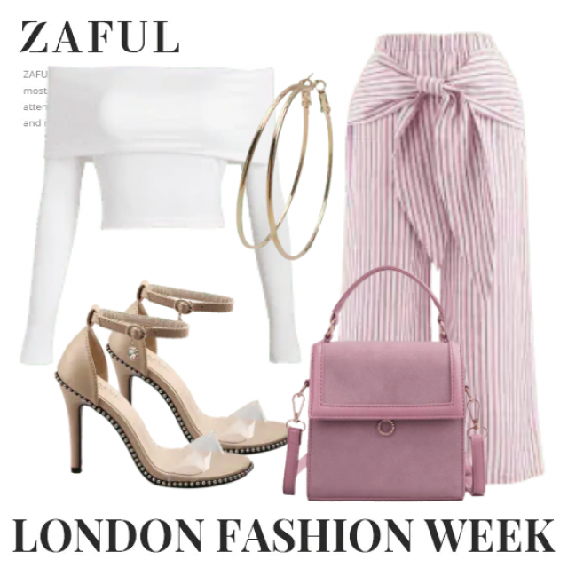 Fashion pants and white top for modern women,buy here,ZAFUL is the best!!! Look here:https://m.zaful.com/join-commissi…