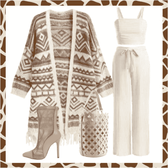 An excellent combination, a graffiti cardigan, is a real hit for fall days, with every combination that's good, whether…