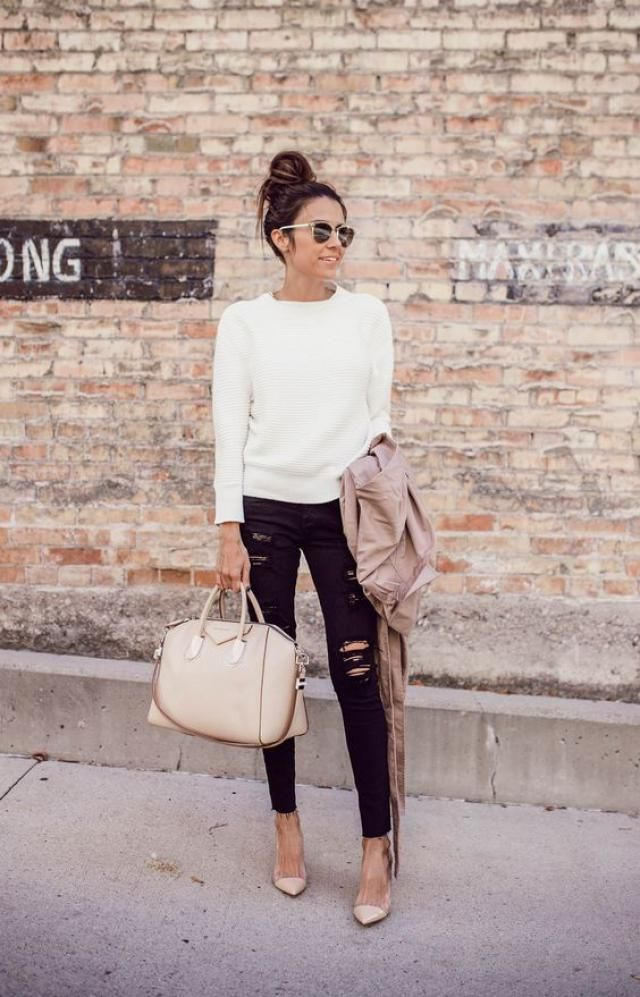 Top white sweater on zaful, buy here, women style, wintter style, online shop, get it now!!