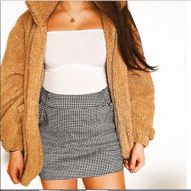 Gorgeous skirt for cold days