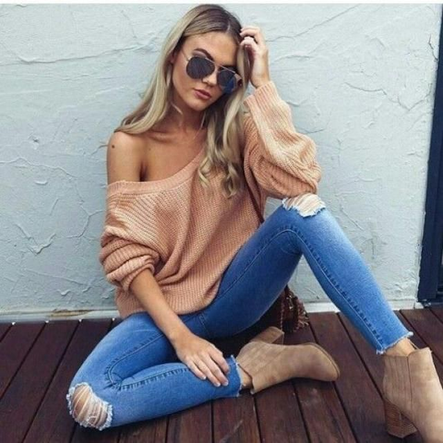 Brown sweater, top now on zaful, buy here, women online shop, great style!