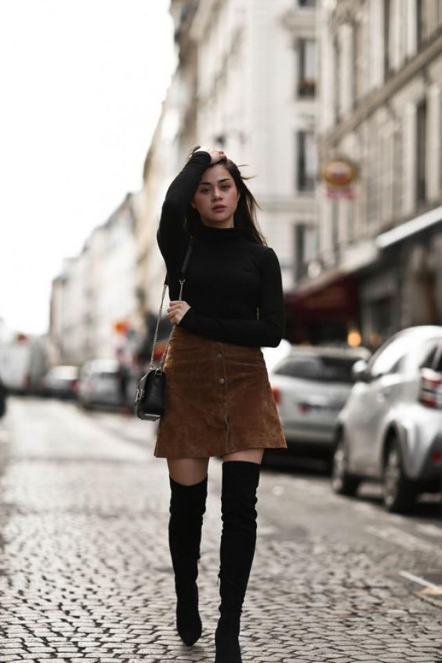 Women boots and skirt, onli on zaful, great fashion, buy here, zaful style!!