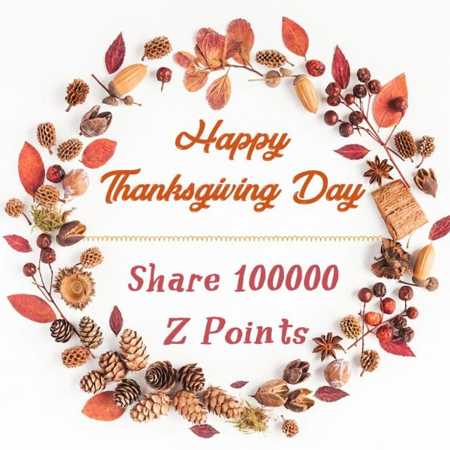 【Participants share 100000 Z Points】