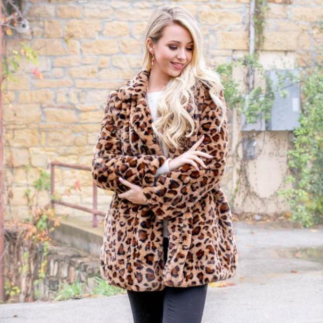 Fluffy Cheetah Coat  Leopard Beautiful leopard print coat ,in ZAFUL,buy here,ZAFUL is the best!!! Look here:https://m…