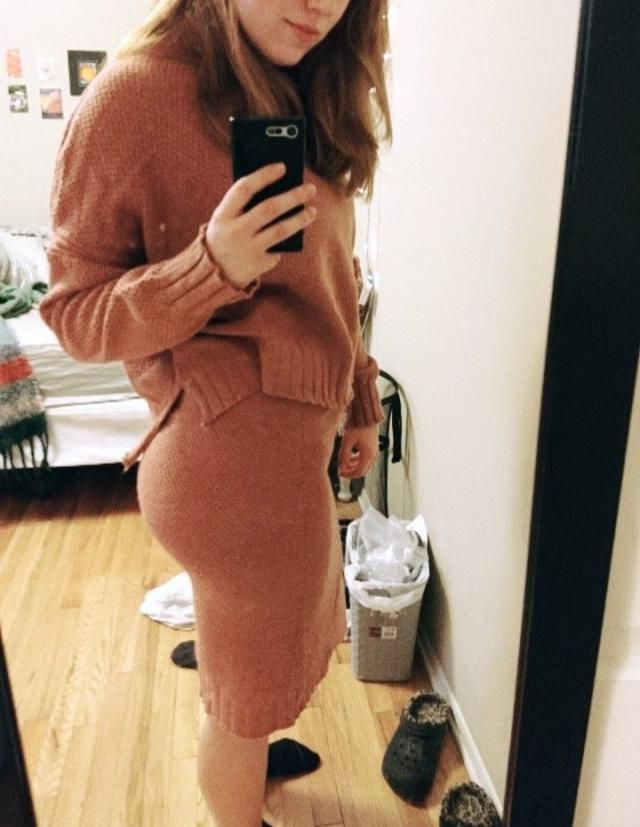 Very cute and comfy, fits great and can wear each separately
