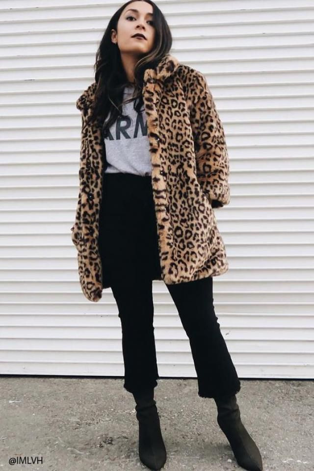Fluffy Cheetah Coat - Leopard , only on zaful, great fashion, buy here!!