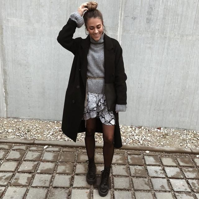 This is a stylish chic look, I think the shorts made it more unique