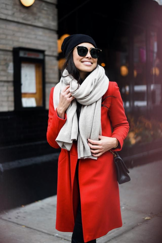 Belted Double Breasted Woolen Coat Perfect combination red and black,BUY HERE! ZAFUL is the best!!!