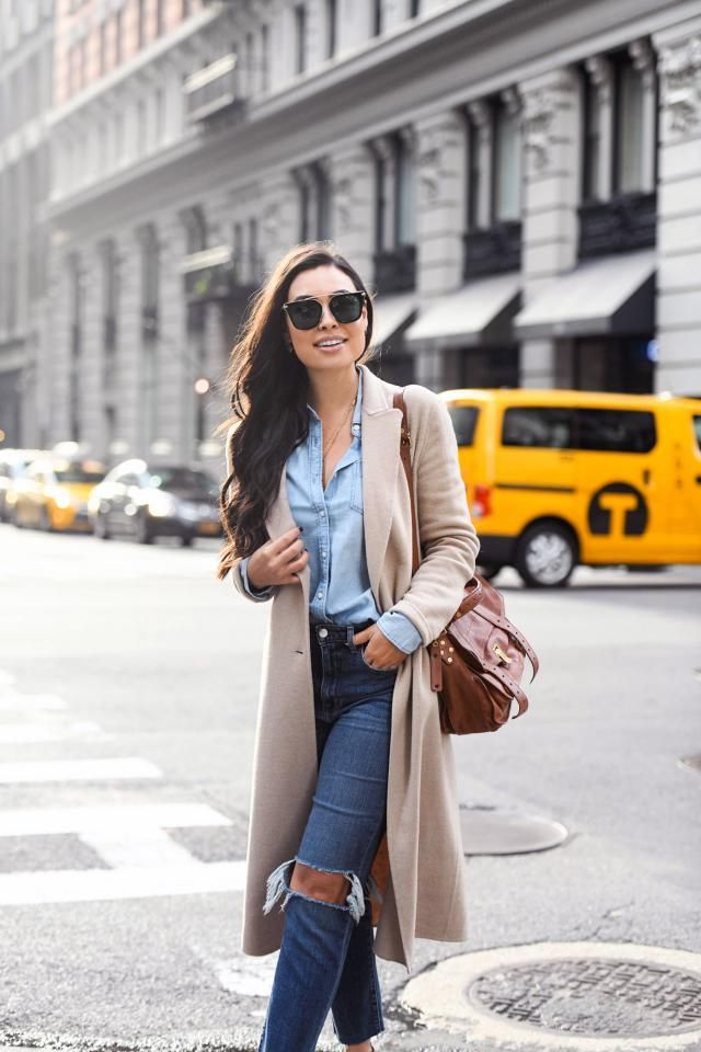 Coat Camel Brown