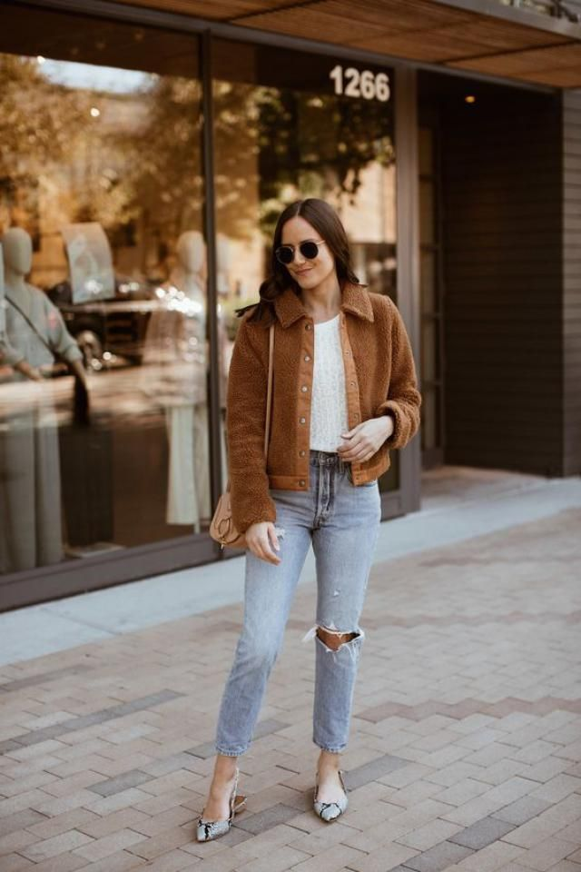 Brown jacket fur, buy here, only on zaful, women fashion, great style!!