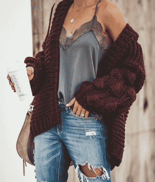 I love cardigans they make outfit look more stylish and keep you warm