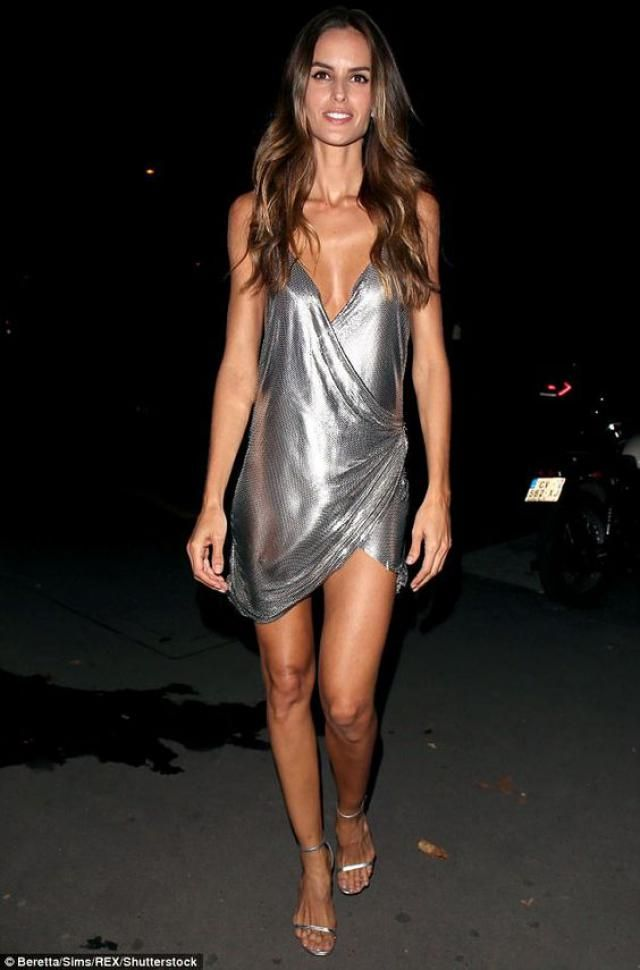 Party Mini Dress - Silver