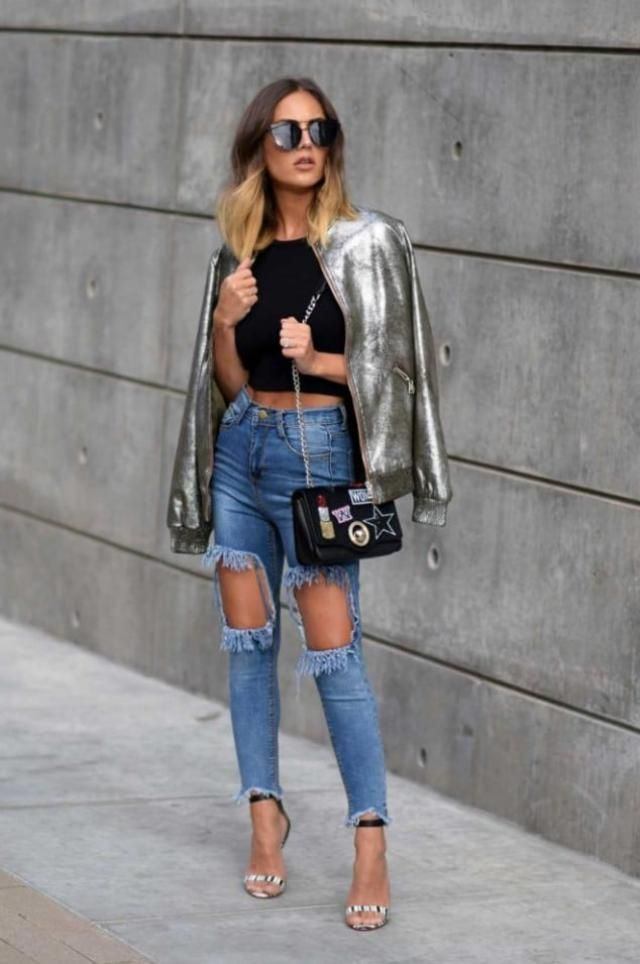 If you are looking for a stylish chic look this outfit is your choice