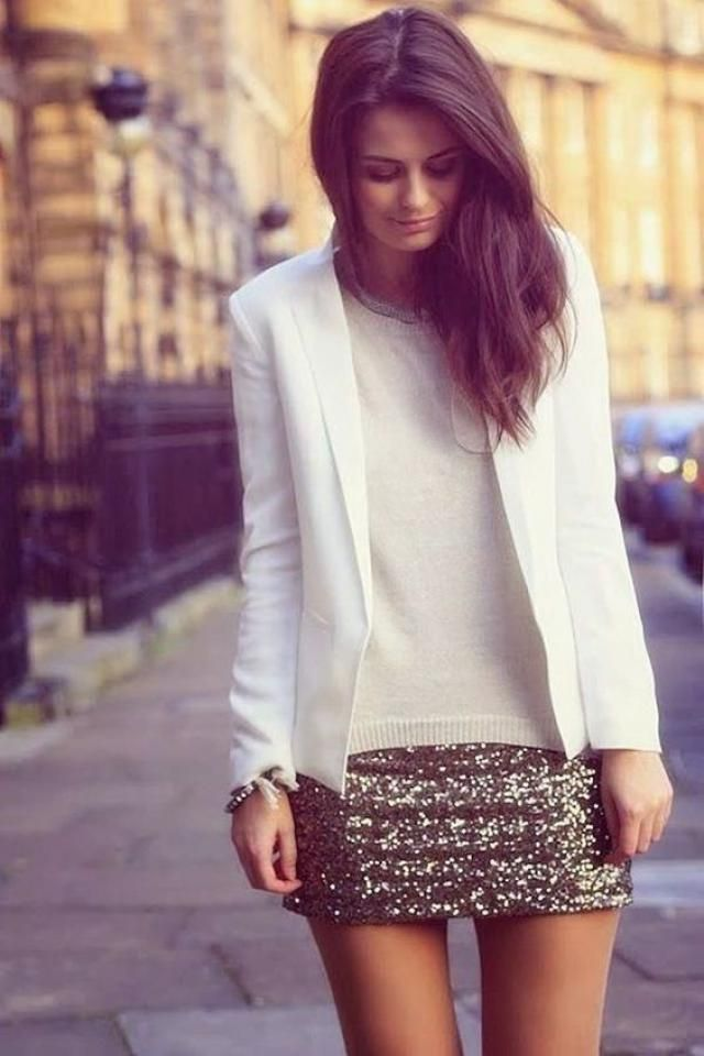 Blazer White