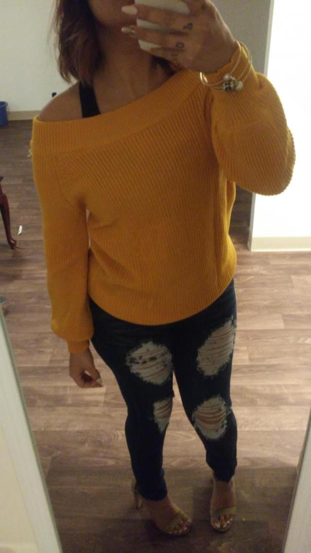 This sweater is soo comfy.. So soft, not itchy at all, very thick. It is raining season here and I wear it over a spor…
