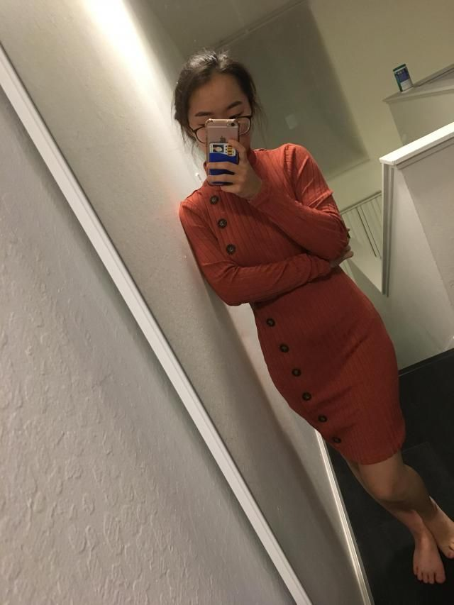 I love it! It's perfect for the fall and maybe the winter if you put a coat on. The material is super nice and fits re…