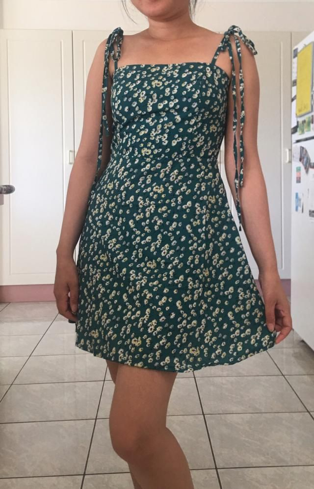 Cute dress! Fit me well True to size