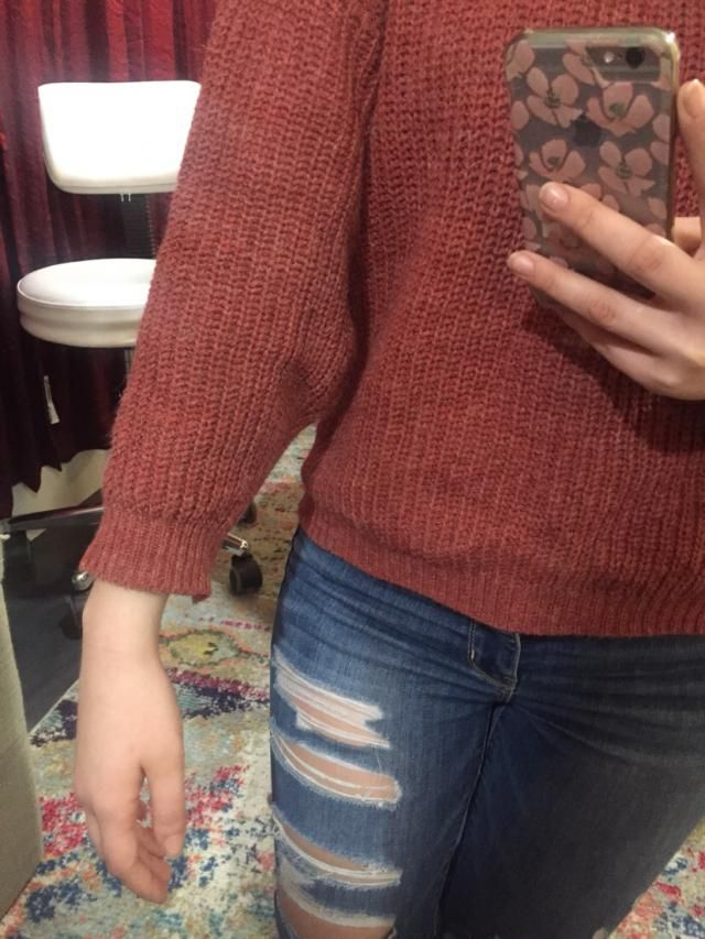 The sleeves are a little too short so I would size up if you want a more relaxed, oversized fit. But it looks exactly …
