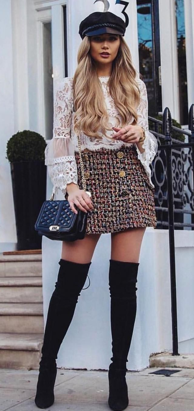 High Heel Drawstring Over The Knee Boots 