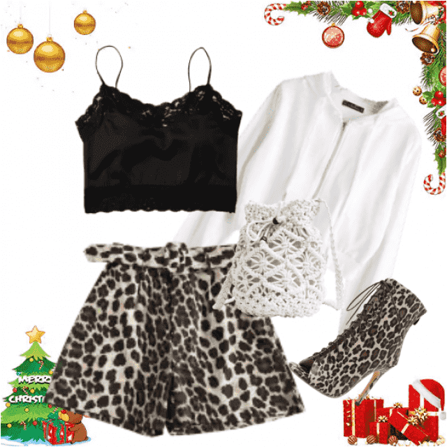 Cute combination for Christmas holidays