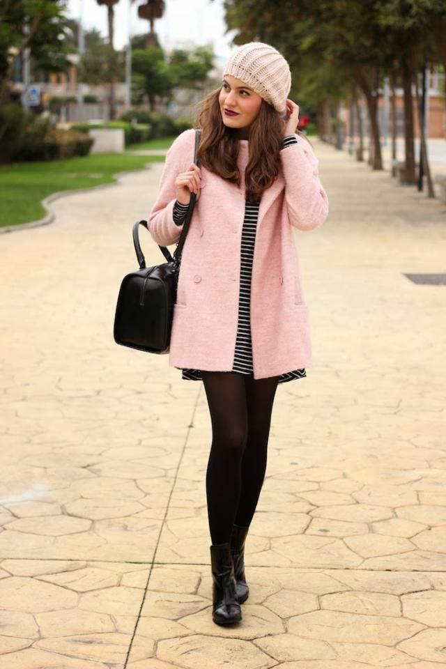 Button Lapel Woolen Long Coat Pink   Neutral and gentle colors in winter, why not. Great choice, buy in zaful. Perfect…