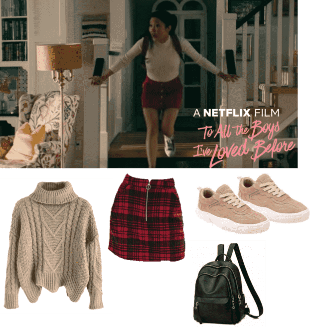 I created this style based on my favourite movie To All the Boys I've Loved Before and used these items from Zaful to r…