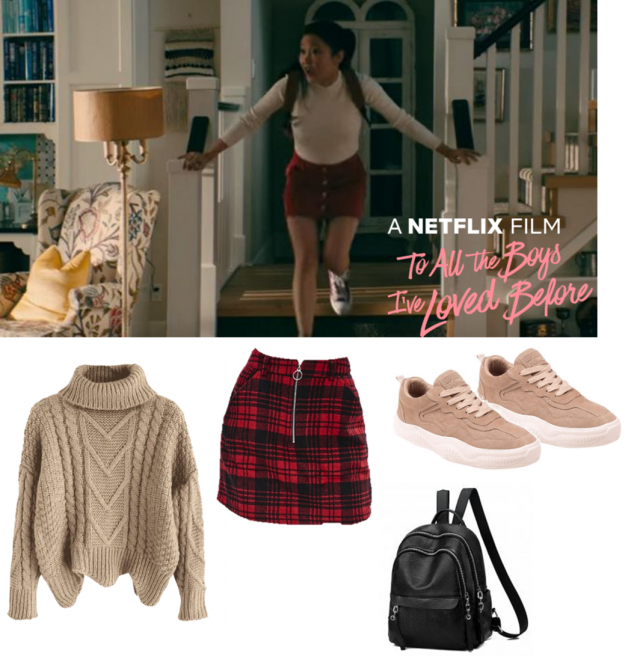 created this style based on my favourite movie To All the Boys I've Loved Before and used these items from Zaful to re…